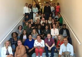 Zij-instromers starten feestelijk aan eerste schooldag nieuwe BBL-opleiding