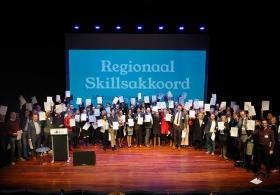 De SBA ondertekent regionaal Skillsakkoord