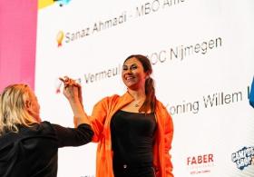 Sanaz Ahmadi van MBO Amersfoort wint finale Skills Heroes